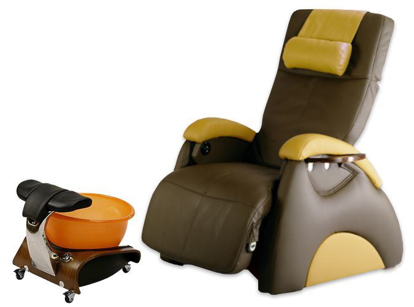 Picture of EZ Back Zero Gravity Portable Pedicure Chair