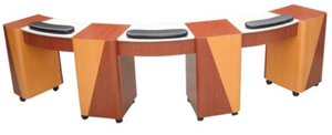 Picture for category Triple Manicure Table