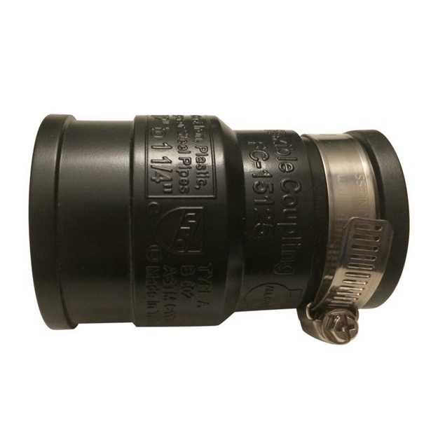 """Picture of Rubber Connector 1-1/4"""""""