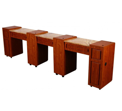 Picture of CANTERBURY Triple Manicure Table