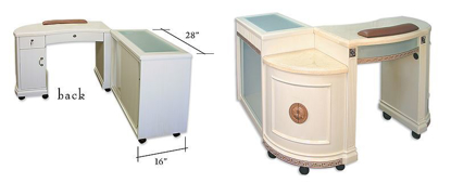 Picture of DDM Manicure Table
