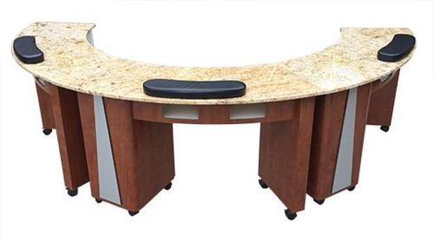 Picture of Manicure Table C Shape MBS001