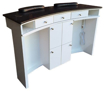 Picture of Double Manicure Nail Table MBS300