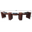 Picture of Triple Manicure Nail Table NT81T