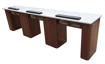 Picture of Triple Manicure Table NT252