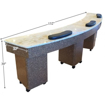 Picture of Triple Manicure Table NT400