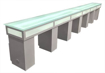 Picture of Triple Manicure Table NT1700