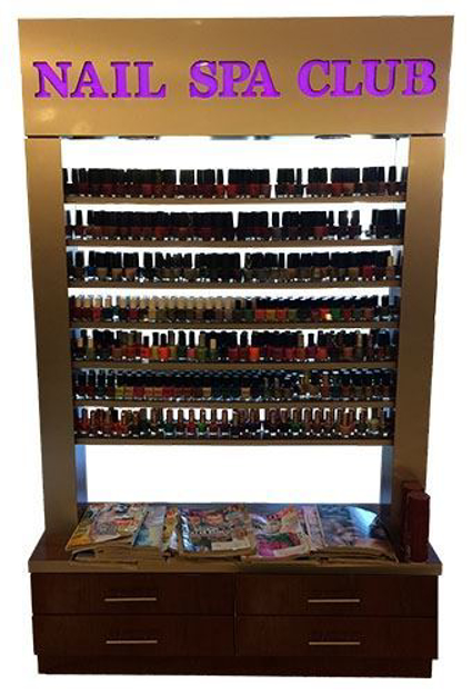 Picture of Nail Polish Rack PR84D