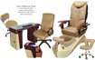 Picture of Lotus Pedicure Chair Package