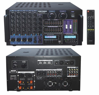 Picture of SINGTRONIC KA-4500DSP PROFESSIONAL DJ/KJ DIGITAL CONSOLE 4000W DSP MIXING APLLIFIER