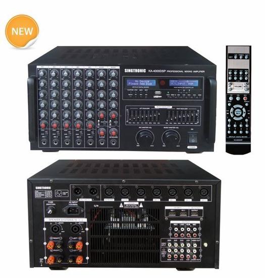 Picture of SINGTRONIC KA-4000DSP PROFESSIONAL DJ/KJ DIGITAL CONSOLE 3000W DSP MIXING AMPLIFIER KARAOKE