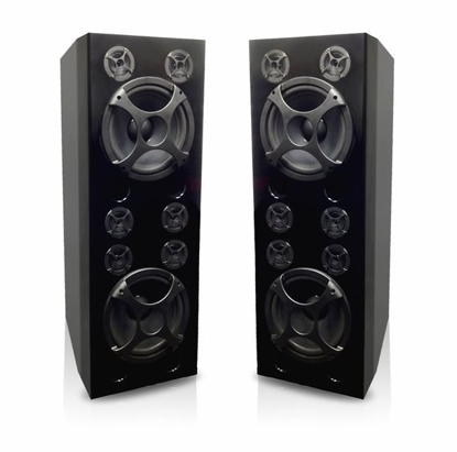 Picture of SINGTRONIC KS-3000DW PROFESSIONAL 1500W VOCALIST KARAOKE SPEAKER UPGRADE NEW MODEL: 2018 SUPER TWEETERS & MONSTER BASS