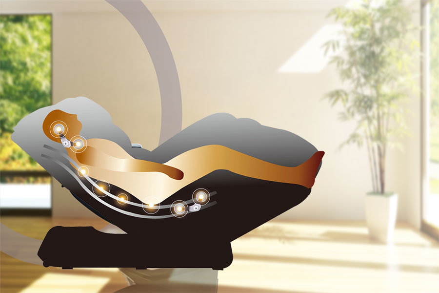 Picture for category L-Track Massage Chairs