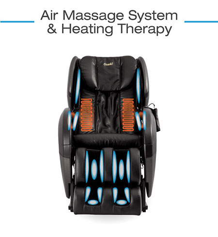 Osaki TW-Pro air massage and heating therapy