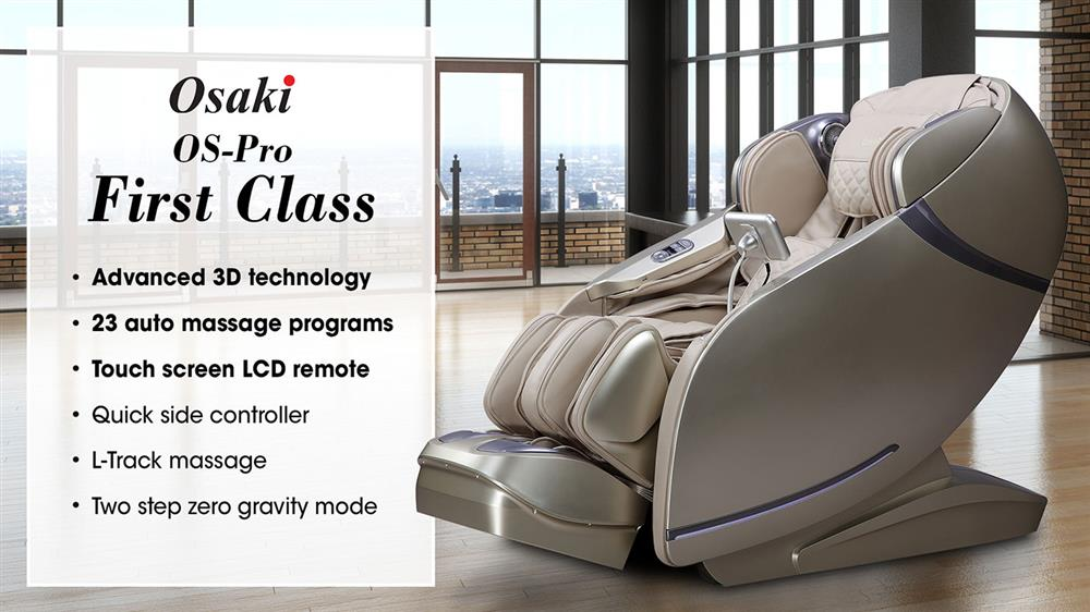 Osaki OS-Pro First Class Massage Chair Banner
