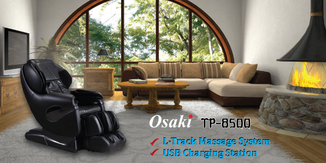 Osaki TP-8500 massage chair promotional banner